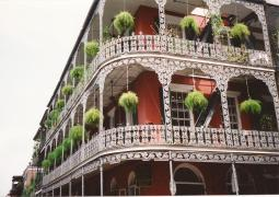 The LaBranche House at 700 Royal Street in April 1998.