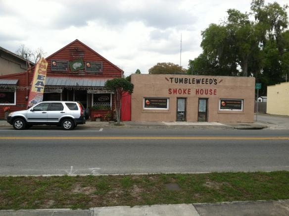 Tumbleweed's Smokehouse, March 19, 2015