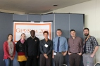 The bulk of our committee, with Dr. DeLyser. A couple people were missing for reasons you'll understand if you watch the video. L-R Helen Rosko, Hannah Gunderman, Njoroge Gathongo, Dydia DeLyser, Myself, Matt Cook, and Matt Kerr.