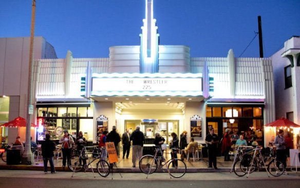 Bike Valet at the Art Theater