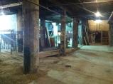 The basement.