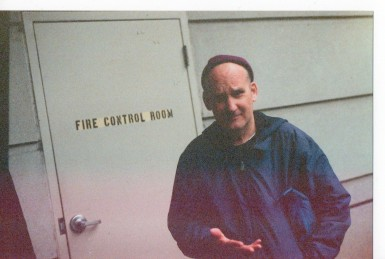 Ian MacKaye, Woodley Park, 04.05.19 (Steven Donnelly 35mm Photo)