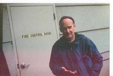 Ian MacKaye, Woodley Park, 04.05.19 (Steven Donnelly 35mm Photo)